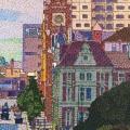 2011, Barrack Street, Available -$2,500, Acrylic on canvas 900x600 mm