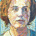 1996  Little Clare, Private Collection,    200x330mm,  Acrylic On Canvas