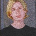 1998  Phillipa    380x510mm,  Acrylic On Canvas