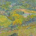2006, Campagna di San Gimignano  700x1200ml  Acrylic On Canvas