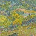 2006, Campagna di San Gimignano  700x1200ml  Acrylic On Canvas