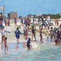 2012, Cottesloe, Private Collection,  900x1600mm, Acrylic on Canvas