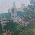 2006, Duomo Spoleto, Private Collection,  600x800mm,  Acrylic On Canvas