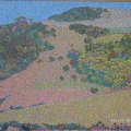 1999, Kiama Landscape  780x600mm,  Acrylic On Canvas