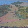 1999, Kiama Landscape  780x600mm,  Acrylic On Canvas