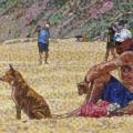 2011, Leighton  600x1200 mm,, Acrylic on Canvas
