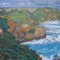 2003, Seascape, Private Collection,  900x600mm,  Acrylic On Canvas
