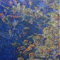 2004, Serpentine Hillside, Private Collection,  750x1125mm,  Acrylic On Canvas