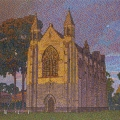 2009, The Chapel at Guildford Grammar  1110x730mm,  Acrylic On Canvas