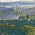 2006, Una Mattina in Toscana, Private Collection,  600x900ml  Acrylic On Canvas