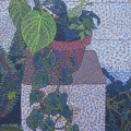 2002, Philodendron  , 500x700ml  Acrylic On Canvas