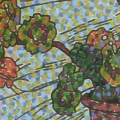 2003, Geraniun  300x420ml  Acrylic On Canvas